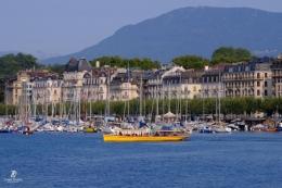 Kota & Danau Jenewa - Swiss. Sumber: koleksi pribadi Tonny Syiariel