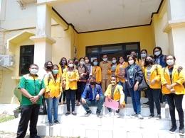 Bersama teman-teman kampus mengajar ke dinas pendidikan(Dokpri)