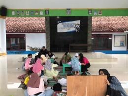 Kelas Seni dan Bimbingan Belajar desa Sumber Jati / dokpri
