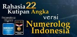 Rahasia 22 Kutipan Angka Versi Numerolog Indonesia (dokpri)