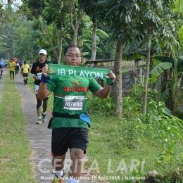 Pengalaman mengikuti event lari jarak 42 km di event lari Yogyakarta Marathon tahun 2018. Credit photo: Cerita lari