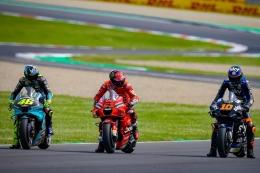 Rossi, Bagnaia, Luca Marini, akan ada di tim Ducati (dok.motogp.com)