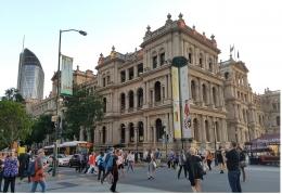 Kesibukan di Pusat Kota Brisbane | Koleksi Iffat Mochtar