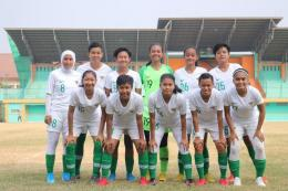 Foto: Timnas sepak bola putri Indonesia (Kompas/dok.PSSI)