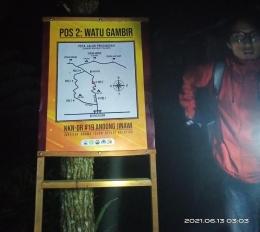 Pos 2 Watu Gambir (dokpri)
