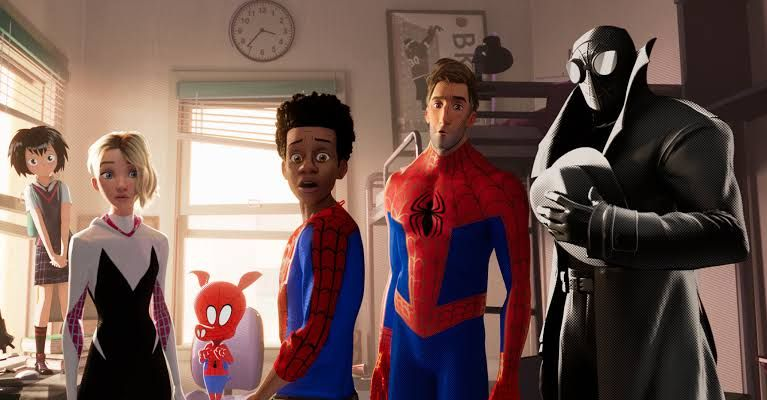 Spiderman Into the Spider Verse (NewYork Times)