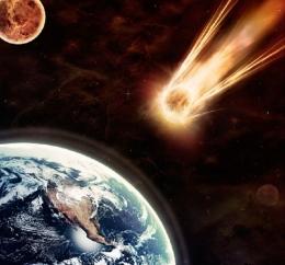 Image captionILUSTRASI asteroid mendekati bumi /Yuri_Arcurs/.*/PIXABAY/Getty Images