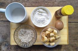 Bahan-bahan membuat pancake (Sumber: dokpri)