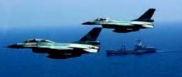 Dengan formasi tempur kelima pesawat tersebut mulai mendekati KRI Teuku Umar 385 dan KRI Tjiptadi 381 untuk memberikan dukungan udara./kibrispdr.org