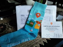 Hadiah kaos kaki sederhana dari Google Maps bagi Local Guides