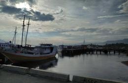 Pelabuhan laut Lewoleba, Lembata. Dok.pribadi