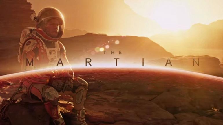 Mark Watney bertahan hidup sendiri di Mars