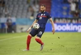 Karim Benzema. (via APNews.com)
