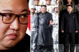 Perubahan drastis penampilan Kim Jon Un menimbulkan spekulasi piminan Korea Utara ini mengalami masalah kesehatan. Photo: Reuters, @martyn_williams/Twitter