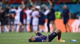 Prancis kalah dari Swiss di EURO 2020. (via aazkanews.com)