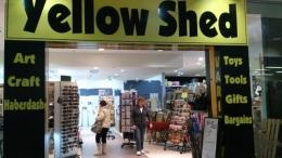 salah satu toko yang memamerkan karya seni di Shellhabour(dok pribadi)