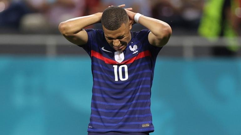 Kylian Mbappe, Super Star yang gagal membawa Prancis menang atas Swiss (Foto Skysports)