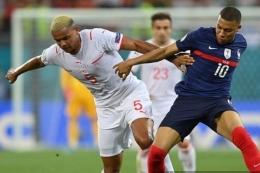 Kegigihan Swiss Mampu Membungkam Juara Dunia 2018, Prancis - Sumber : bola.kompas.com