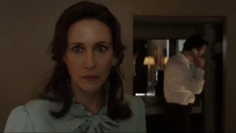 Sebuah adegan di Trailer Conjuring 3. Sumber: via IMDb.com