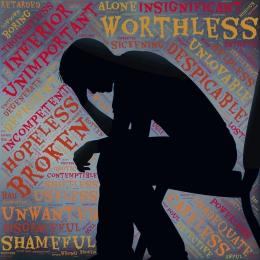 Ilustrasi depresi karena tidak mau mengakui kesalahan oleh johnhain dari pixabay.com