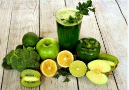 Ilustrasi jus sayuran. (Sumber: Pixabay)