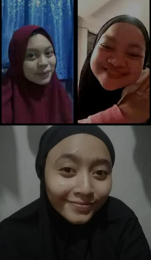 wawancara dengan Kamiila Mahasiswa UAI dan Wulan Apriani Mahasiswa UHAMKA, wawancara dilakuakan secara virtual. Dok. pribadi