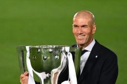 Zinedine Zidane. Afp/gabriel bouys dipublikasikan kompas.com