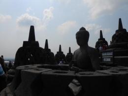 Candi Borobudur warisan dunia (dokumen pribadi)