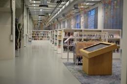 Salah satu perpustakaan di Belanda (sumber : theurbanmama.com)