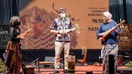 Sambutan Sandiaga Uno di International Conference Sound of Borobudur (sumber: Tribun Jogja)