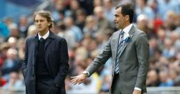Mancini dan Martinez di final Piala FA 2013/ theguardian.com