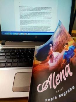 Novel Alena Karya Pepih Nugraha (dokpri)