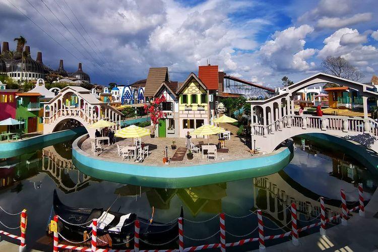 Tempat wisata bernama Dusun Semilir Eco Park di Semarang.(dok. Dusun Semilir Eco Park dipublikasikan kompas.com)