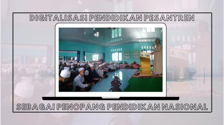 Dokumentasi pribadi dalam acara Muhadaroh Kubro di Pps Darussalam Tsalis