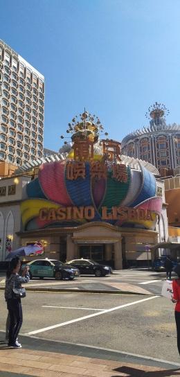 Gedung Kasino Lisboa, dokumentasi pribadi.