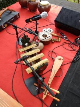 Salah satu alat musik Sound of Borobudur, seperti pada relief candi Borobudur. Dok: Riana Dewie