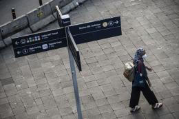 PPKM Darurat berlaku mulai 3-20 Juli 2021 (Foto ANTARA/Aprillio Akbar via Kompas.com)