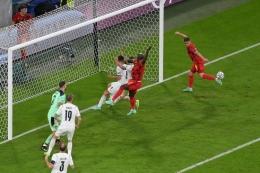 Duel Belgia vs Italia pada perempat final Euro 2020 di Allianz Arena, Muenchen, Jerman, Sabtu (3/7/2021) dini hari WIB.(AFP/STUART FRANKLIN), kompas.com