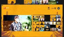 Pembukaan acara oleh Menteri Pariwisata dan Ekonomi Kreatif, Sandiaga Salahuddin Uno. (Dok : pribadi)