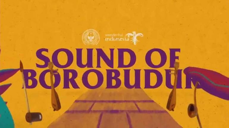 Gerakan Sound of Borobudur (tangkapan layar YouTube akun Harian Kompas)