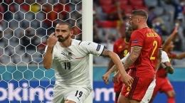 laga Italia vs Belgia, sumber gambar tribunnews.com