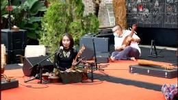 Trie Utami, sosok pokok Sound of Borobudur
