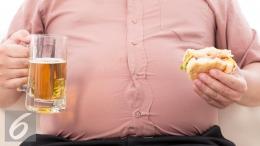 Ilustrasi obesitas, sumber: istockphoto