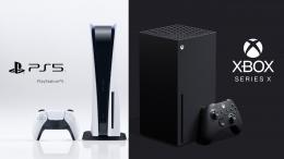 PS5 dan Xbox Series X yang merupakan generasi terbaru konsol game. Sumber gambar:Miro/teknologi.id