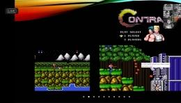 Game legendaris dari Nintendo: Contra. Sumber gambar: Tangkapan layar tur virtual