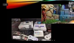 Konsol Game Nintendo dan Super Nintendo yang menjadi legenda pada masanya. Sumber gambar: tangkapan layar tur virtual