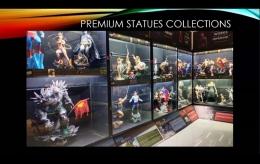 Koleksi action figureMuseum Blockbuster Surabaya. Sumber gambar: tangkapan layar tur virtual