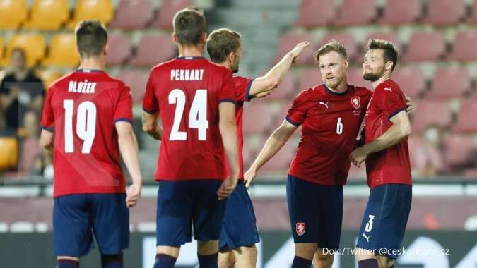 Skuad Ceko Euro 2020, Twitter@ceskarepre_cz