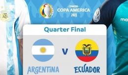 (Argentina vs Ekuador Dok: indramayu.pikiran-rakyat.com)