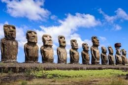 Di film dokumenter ini juga dijelaskan alasan kehadiran patung raksasa tersebut (sumber: Apec.org)